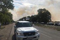 На Донбассе детонация мин вызвала пожары, закрыт КПВВ, - ОБСЕ