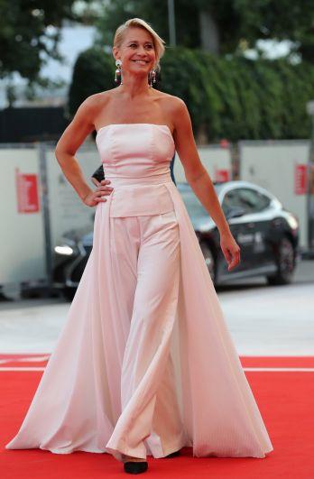 Член жюри конкурса «Венеция-75» Трине Дюрхолм.