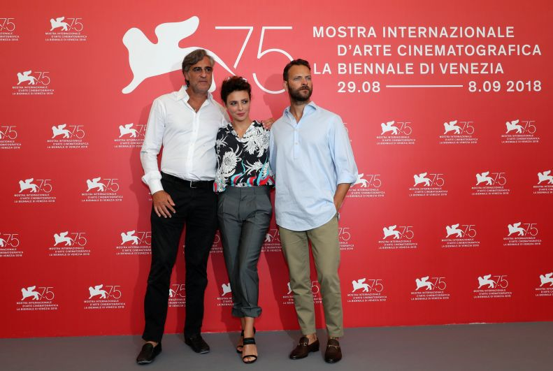 Актеры Макс Тортора, Алессандро Борги и Жасмин Тринка.