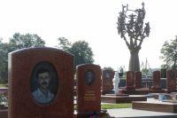 Кладбище в Беслане, на котором похоронены погибшие в теракте.