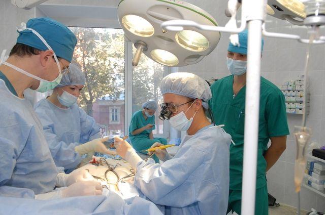 Трансляция выполняемых операций будет организована в лечебных учреждениях края.