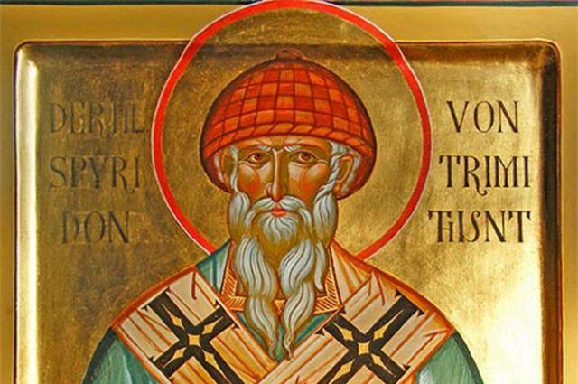 ВЕкатеринбург прибыли мощи святителя Спиридона Тримифунтского