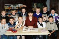 Школа с. Нялино. 1997 год.