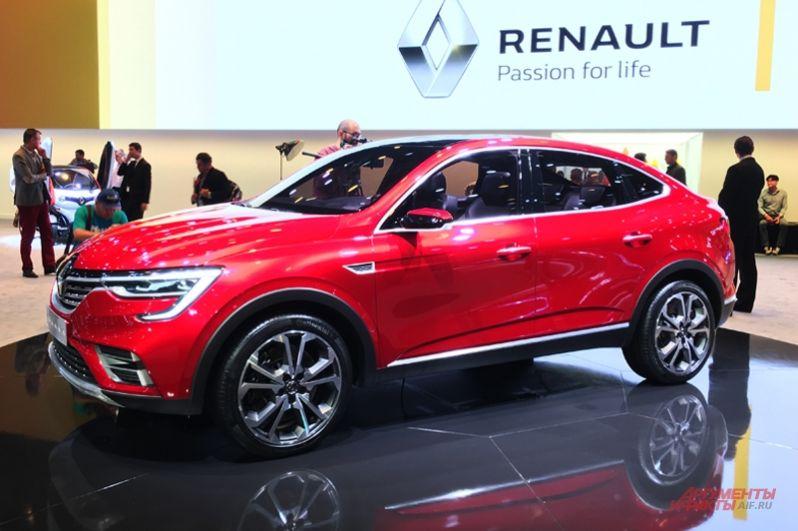 В Москве состоялась мировая премьера кросс-купе Renault Arkana, предназначенного специально для России и соседних с ней рынков.