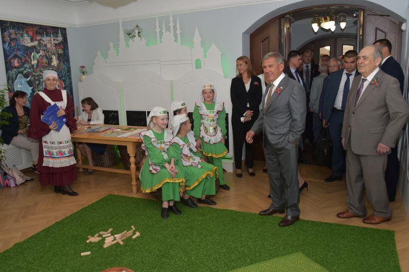 Также 30 августа президент РТ открыл обновленный литературный музей им. Габдуллы Тукая
