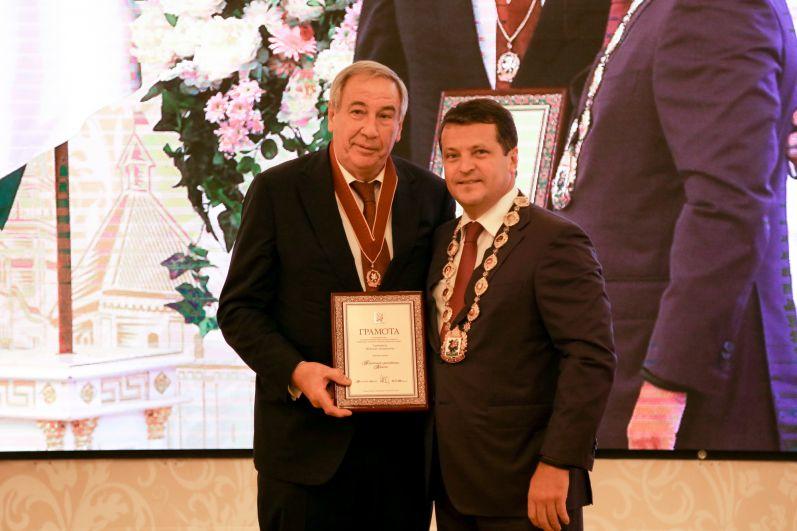 Шамиль Тарпищев стал Почетным гражданином Казани.