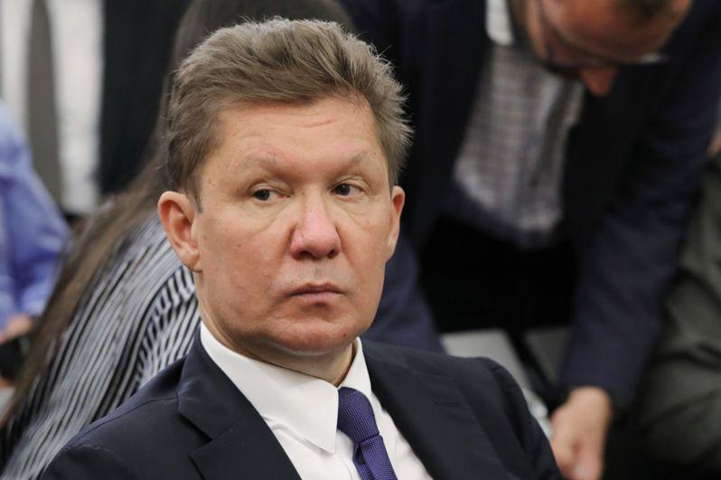 Председатель правления «Газпрома» Алексей Миллер.