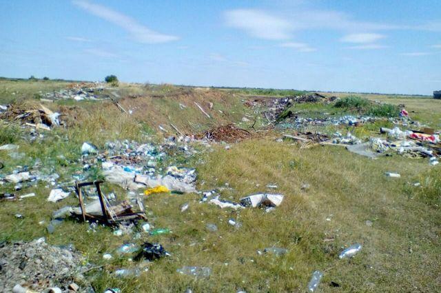 Это свалка за Новым Белым Яром, куда ответственные домовла- дельцы везут свой мусор.