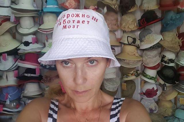 В такой шляпке гораздо лучше думается о подводных камнях и тонкостях бизнеса.