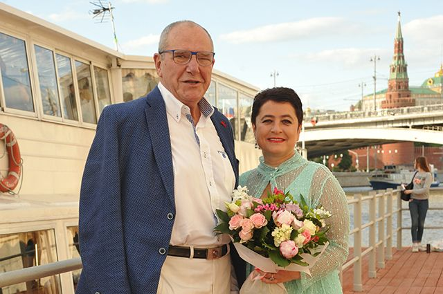 Эммануил Виторган с женой Ириной.