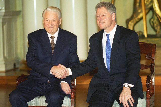 Российской-американская встреча на высшем уровне.