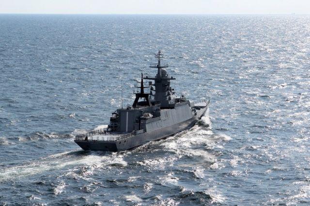 Корвет «Громкий» прибыл во Владивосток для испытаний
