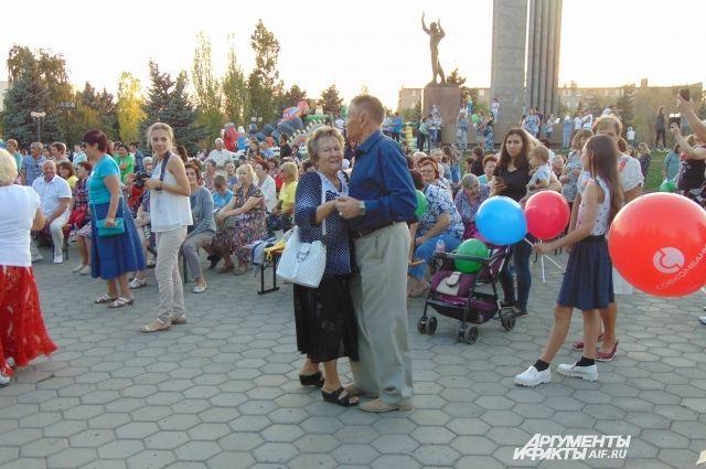В Оренбурге прошел танцевальный вечер «Город – сказка, город - мечта».