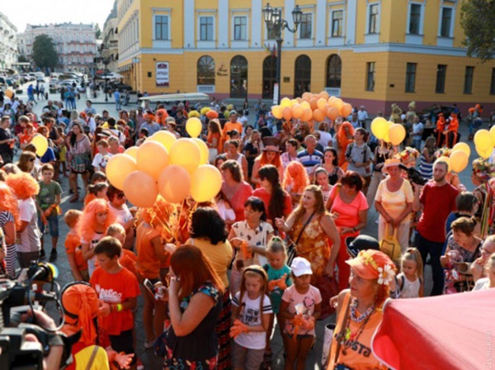 Фестиваль «Рыжий город» проходит уже в третий разв Одессе.