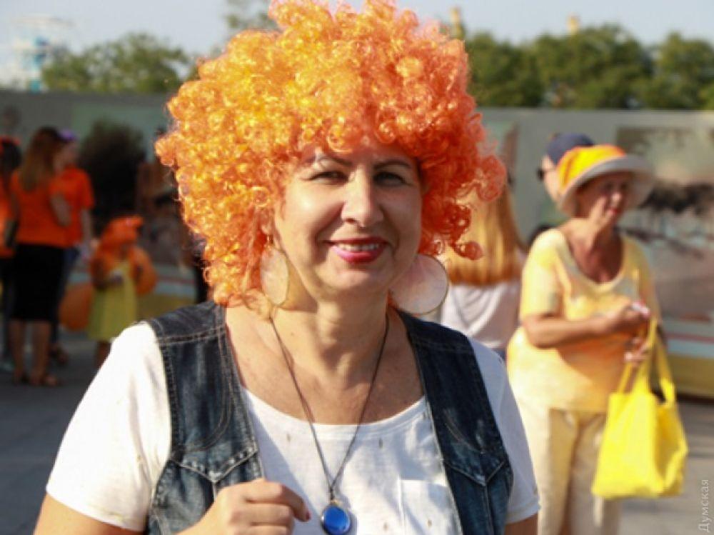Присоединиться к маршу мог каждый, даже те, у кого натуральный цвет волос вовсе не рыжий.