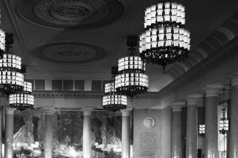 Актовый зал Московского государственного университета имени Ломоносова. 1961 год.
