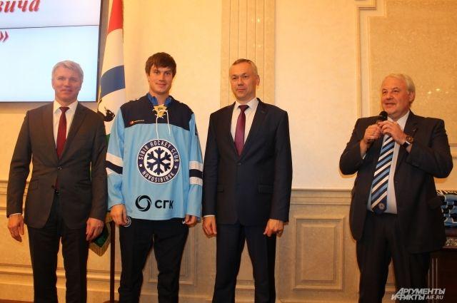 Министр спорта РФ побывал в Новосибирске.