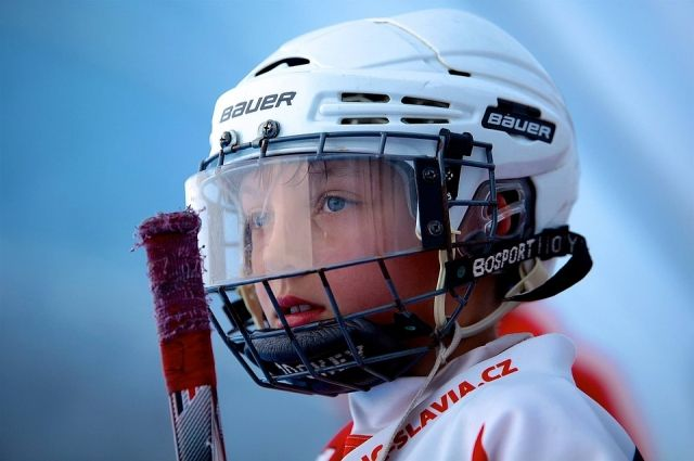 В Ноябрьской школе №3 открыли класс для юных хоккеистов