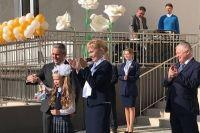 Александр Моор открыл торжественную линейку в новом корпусе гимназии №49