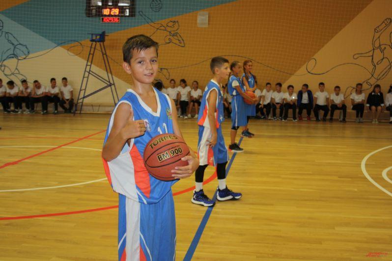 Баскетбольный зал.