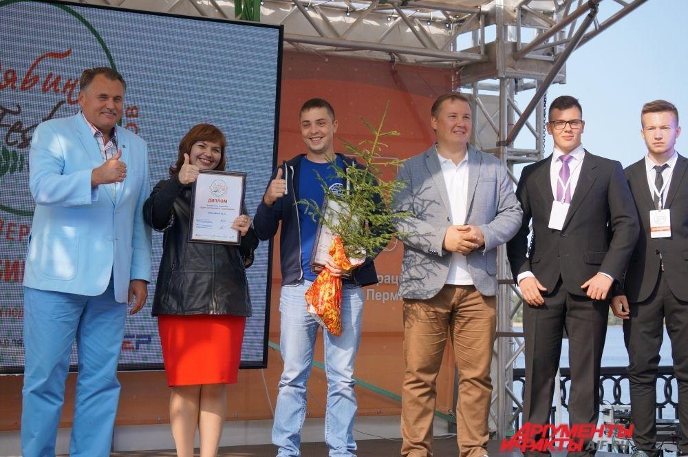 """Жители Паркового - одни из первых участников проекта """"Городская среда""""."""