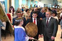 Александр Моор и Дмитрий Моор посетили новоуренгойский этнопарк