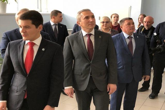 Врио губернатора Тюменской области Александр Моор прибыл на Ямал