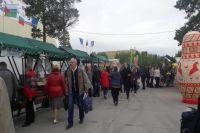 В Ноябрьске начала работу продуктовая ярмарка