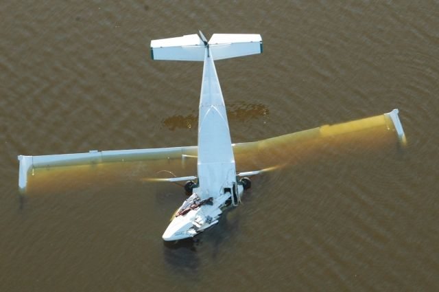 За 6 месяцев в СФО произошло три авиакатастрофы.
