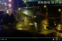 На перекрестке улиц 9 мая и Авиаторов столкнулись две машины.