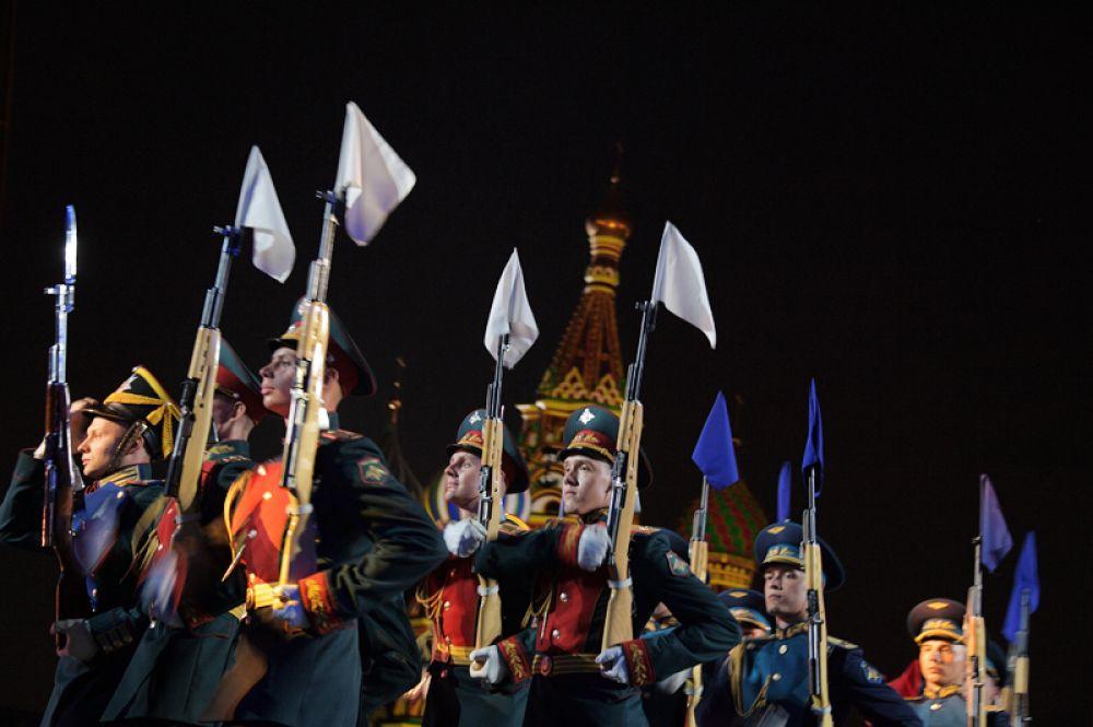 Военный Образцовый оркестр Почетного караула.