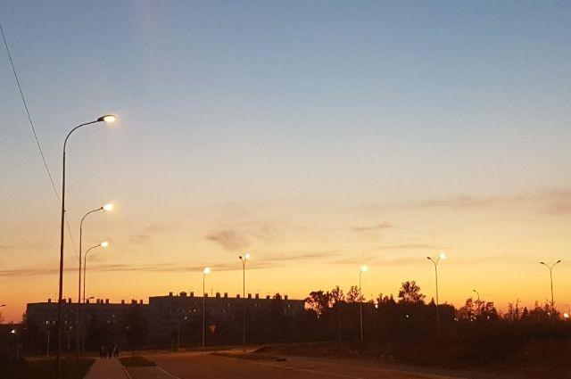 В Оренбуржье реализуются проекты по модернизации уличного освещения.