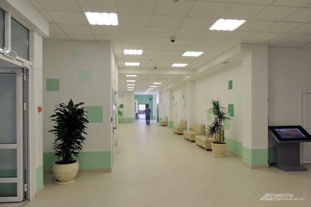 Школьный коридор.