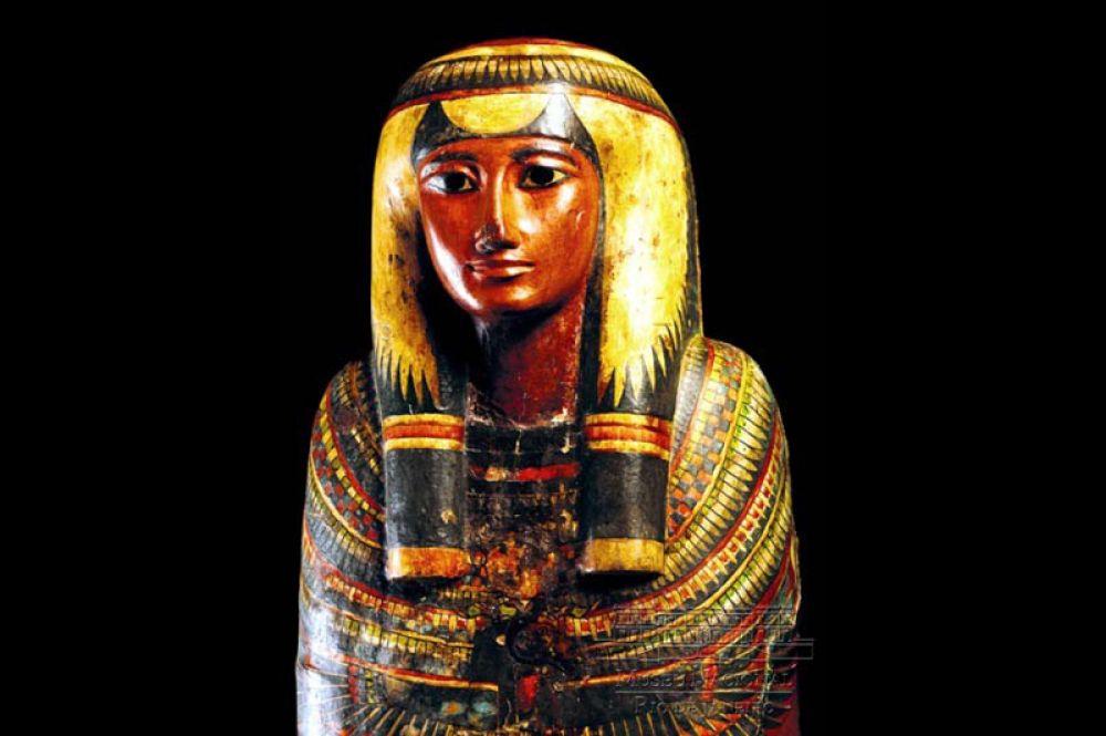 Саркофаг и мумия Шамоненсу, около 750 года до н.э.