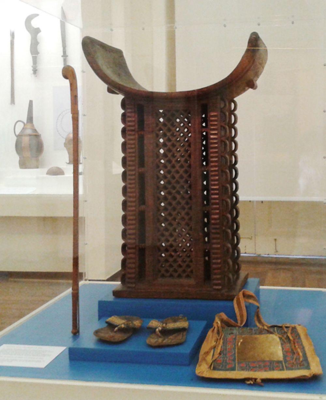 Дагомейский трон (Африка), конец XVIII - начало XIX века.
