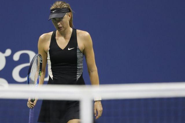 Мария Шарапова вылетела cUS Open