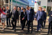 Александр Моор прибыл с рабочим визитом в ХМАО - Югру