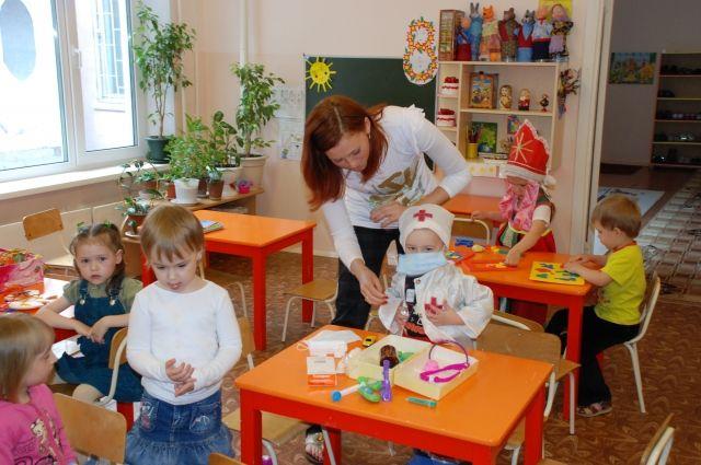 В частных детских садах предпочитают формировать небольшие группы.