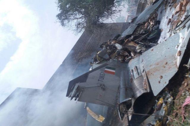 ВИндии разбился самолет ВВС русского происхождения