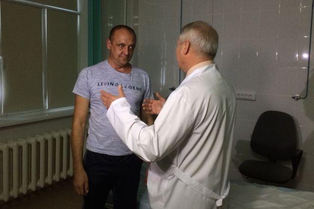 Виталий Провоторов регулярно проходит обследования.