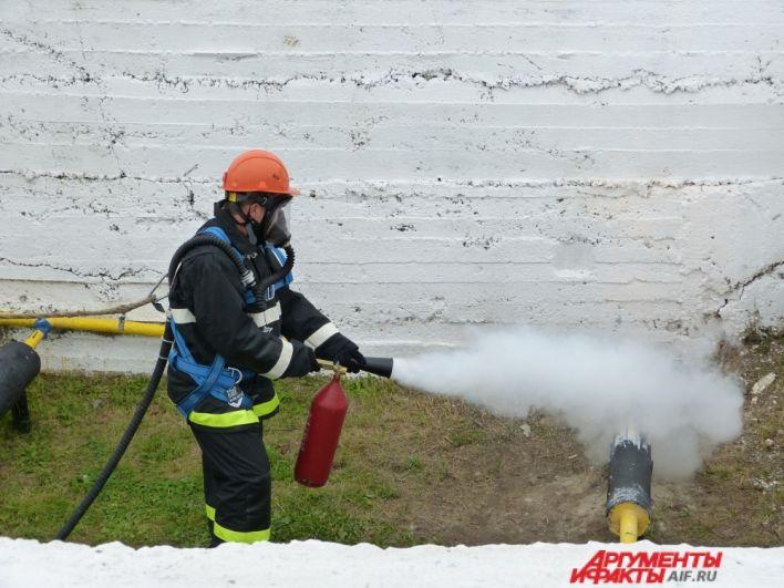 Один из самых сложных этапов, на котором надо справиться с огнём.
