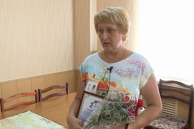 Светлане Турдакиной выразили признательность за помощь сотрудникам полиции.