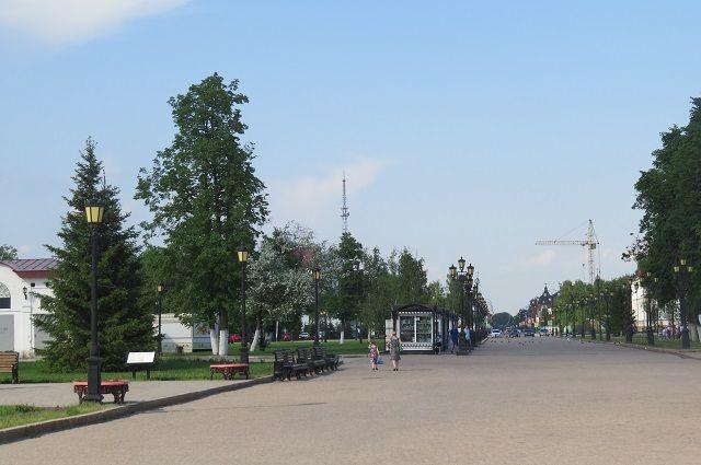 В Тобольске строят школу в микрорайоне №15
