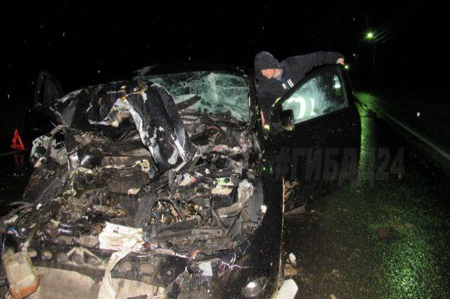Авария произошла 5 сентября на трассе Р-255 «Сибирь».