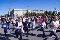 По центральным улицам побегут спортсмены.