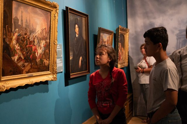 Выставка произведений Карла Брюллова вызвала огромный интерес у жителей Приморья.
