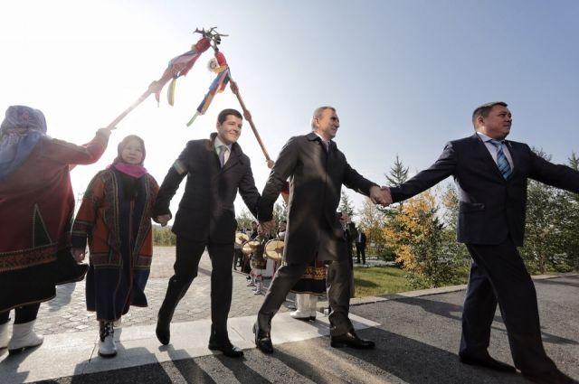 Врио губернатора Тюменской области Александр Моор прибыл в Салехард