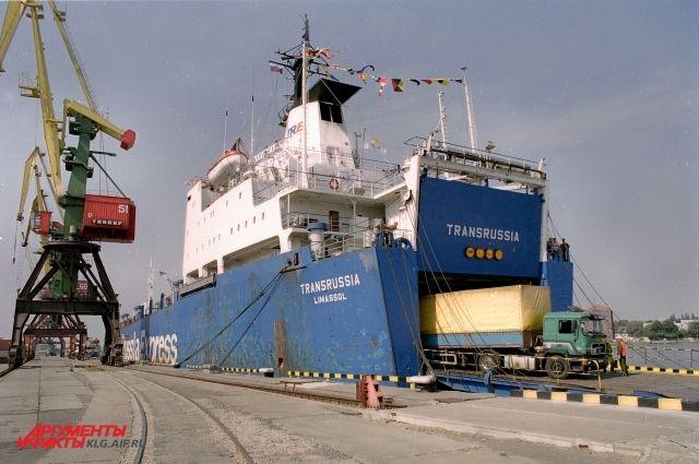 Планируется возобновить паромное сообщение между портом Засниц и Балтийском.
