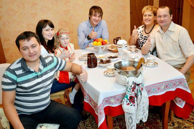 В семье Юнусовых все вопросы решаются на семейном совете.