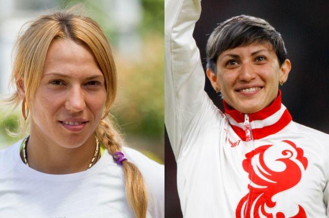 Мария Абакумова и Татьяна Лебедева.